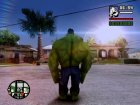 Hulk Classic for GTA San Andreas left view