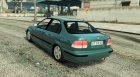 Honda Civic 97 EA Edition for GTA 5 rear-left view