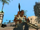 Пак оружия с расцветкой for GTA San Andreas left view