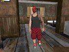 Skin HD Random GTA V Online Red Mask