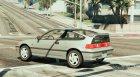 Honda CRX 1991 для GTA 5 вид слева