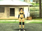 Dead Or Alive 5 LR Kokoro Black Shirt Hot Pants for GTA San Andreas right view