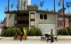 Измененный дом на пляже Санта-Мария 2.0 for GTA San Andreas rear-left view