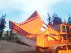 HVY Bulldozer GTA V Next Gen для GTA San Andreas вид изнутри