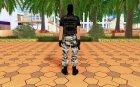 Phoenix из Counter-Strike на замену ballas2 для GTA San Andreas вид сзади слева