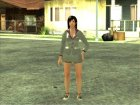 Kokoro Business Suit для GTA San Andreas вид изнутри