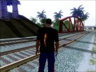 "Футболка ""Paul Walker"" для GTA San Andreas вид слева"