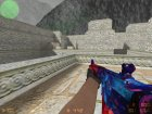 M4A4 Космическая спираль for Counter-Strike 1.6 left view