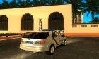 Toyota Fortuner Полиция Украины для GTA San Andreas вид сзади слева