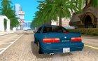 Nissan Silvia S13 (1989) v1 для GTA San Andreas вид сзади слева