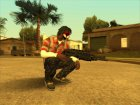 Guns default 'quality for GTA San Andreas inside view