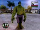 Hulk Avengers Age of Ultron для GTA San Andreas вид сверху