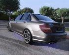 2014 Mercedes-Benz C63 AMG W204 1.0 для GTA 5 вид слева
