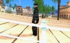 Зимний скин для GTA San Andreas вид слева