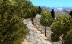 Каменная гора для GTA San Andreas вид изнутри