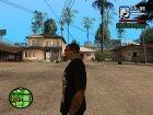"""Футболка """"Гонщик"""" для GTA San Andreas вид сзади слева"""