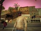 Бежевая кожаная куртка for GTA San Andreas left view