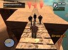 Массовые Драки v.2 for GTA San Andreas rear-left view