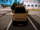 Citroen Berlingo Mk2 Van для GTA San Andreas вид слева
