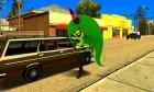 Zeena для GTA San Andreas вид сзади слева