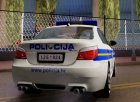 BMW M5 - Croatian Police Car для GTA San Andreas вид сбоку
