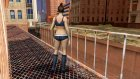 Dance Girl from Binary Domain для GTA San Andreas вид сзади слева