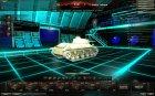 Премиум ангар - Трон для World of Tanks вид изнутри