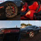 2010 Lexus LFA v1.3 for GTA 5 inside view