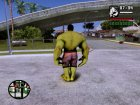 Hulk Avengers Age of Ultron для GTA San Andreas вид сбоку