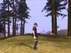 Post Apocalypse Warrior для GTA San Andreas вид сзади слева