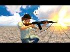AK-47 с ремешком for GTA San Andreas right view