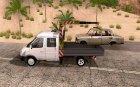ГАЗель 33023 Манипулятор для GTA San Andreas вид слева
