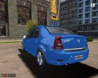 Dacia Logan 2008 для Mafia: The City of Lost Heaven вид сзади слева