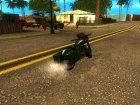 Bagger из GTA V для GTA San Andreas вид сзади слева