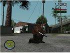 Gold Guns Pack для GTA San Andreas вид справа