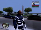 Nick Fury для GTA San Andreas вид слева