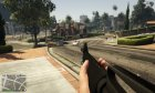 M16A1 (Vietnam M16) for GTA 5 rear-left view