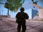 Японский солдат, конверт из PLA для GTA San Andreas вид сзади слева