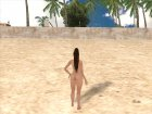 Dead or Alive 5 LR Mai Shiranui Nude v1 Hairy for GTA San Andreas
