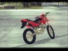 Honda XR 250R for GTA San Andreas top view