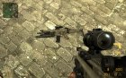Fn Scar Acog M203 for AUG for Counter-Strike Source top view