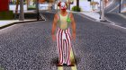 Left 4 Dead 2 Clown for GTA San Andreas rear-left view