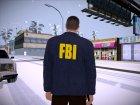 FBI HD for GTA San Andreas rear-left view