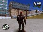 Red Skull skin for GTA San Andreas top view