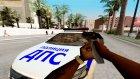 Lada Vesta ДПС v2.0 доработка для GTA San Andreas