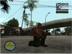 Gold Guns Pack для GTA San Andreas вид сзади слева