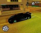 Lamborghini Infernus для GTA San Andreas вид изнутри
