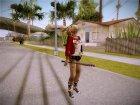 Harley Quinn - Suicid Squad (Injustice) для GTA San Andreas вид сзади