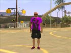 Ballas2 GTA Online Style for GTA San Andreas left view