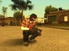 Guns default 'quality для GTA San Andreas вид справа